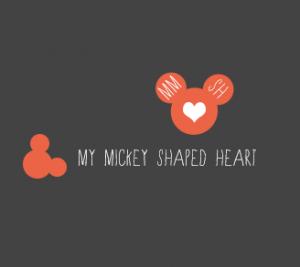 Logo My Mickey Shaped Heart oud