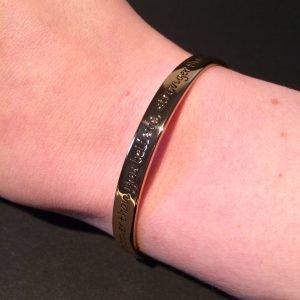 winnie armband disney couture goud om