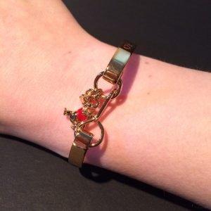 winnie armband disney couture goud bedel om