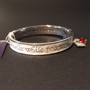 7 dwergen armband disney couture platina achterkant