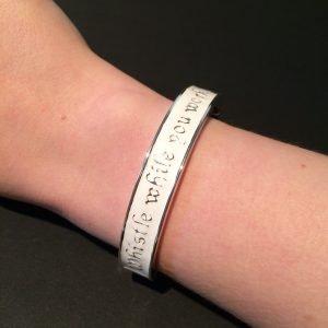 7 dwergen armband disney couture platina achterkant om