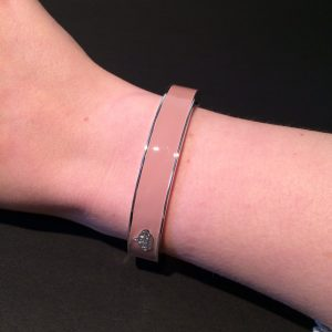 armband roze disney couture platina achterkant om
