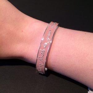 armband roze disney couture platina om