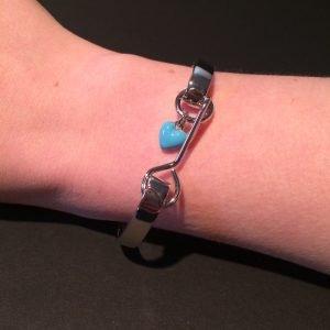frozen disney couture armband bedel om