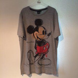 Mickey shirt grijs