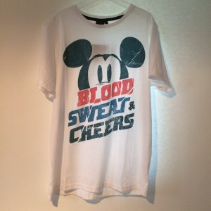 Mickey shirt wit mannen