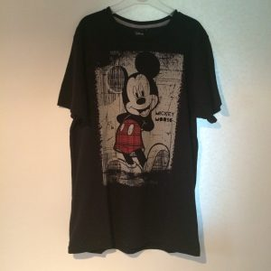 Mickey shirt zwart