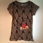 Minnie shirt grijs