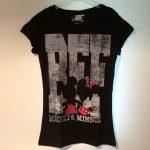 Mickey & Minnie shirt zwart