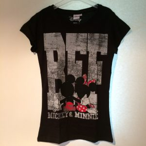 Mickey & Minnie shirt zwart
