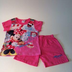 Meisjes pyjama Minnie roze