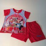 Meisjes pyjama Minnie rood