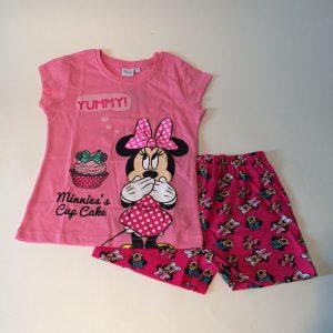 Meisjes pyjama Minnie licht roze