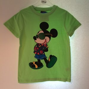 Jongens Mickey shirt groen