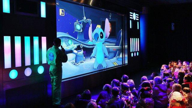 Stitch Live! scherm