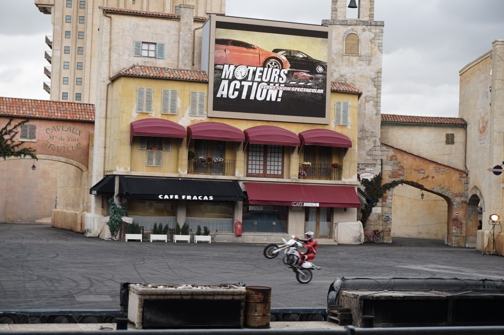 Moteurs... Action! Stunt Show Spectacular motor