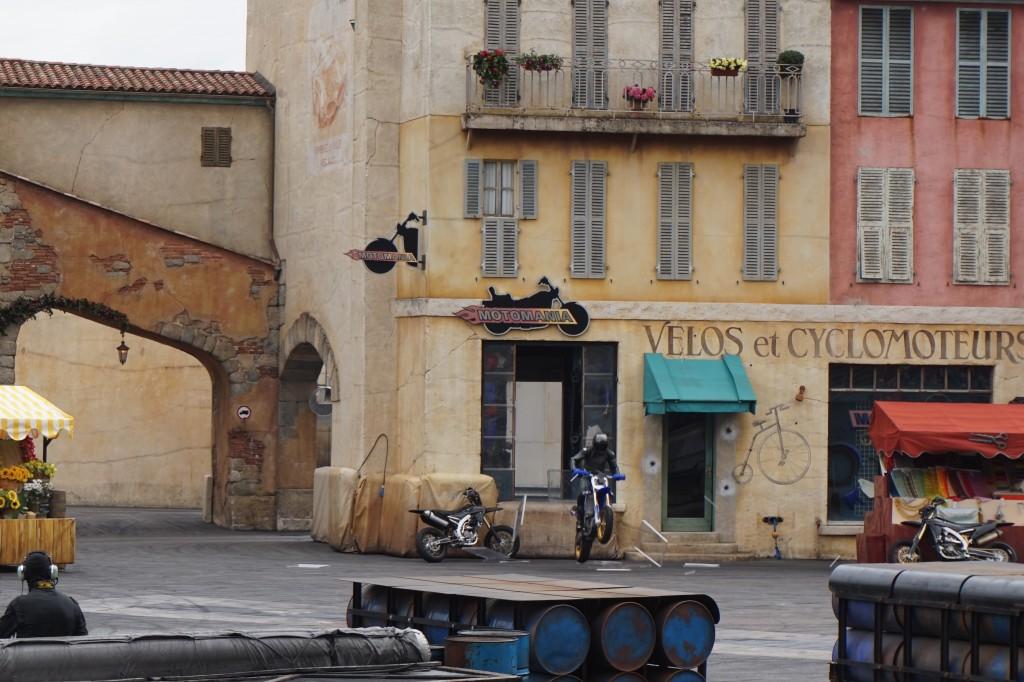 Moteurs... Action! Stunt Show Spectacular ruit