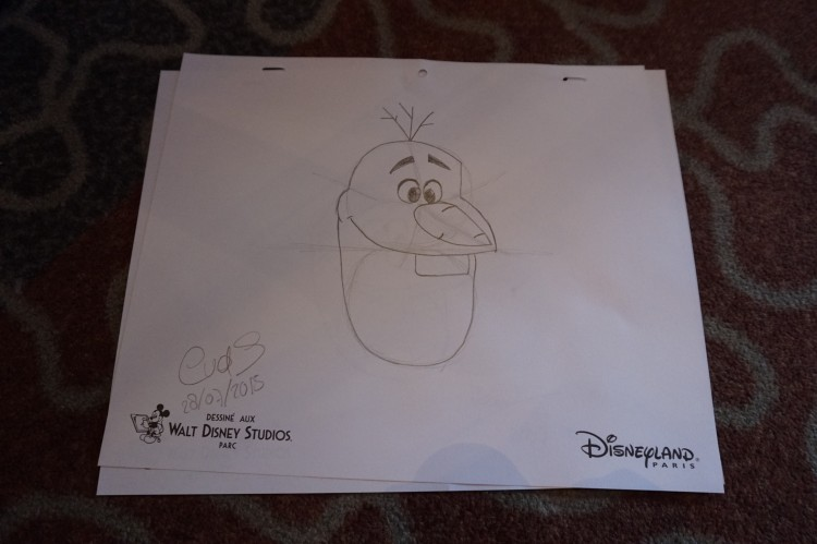 Art of Disney Animation olaf