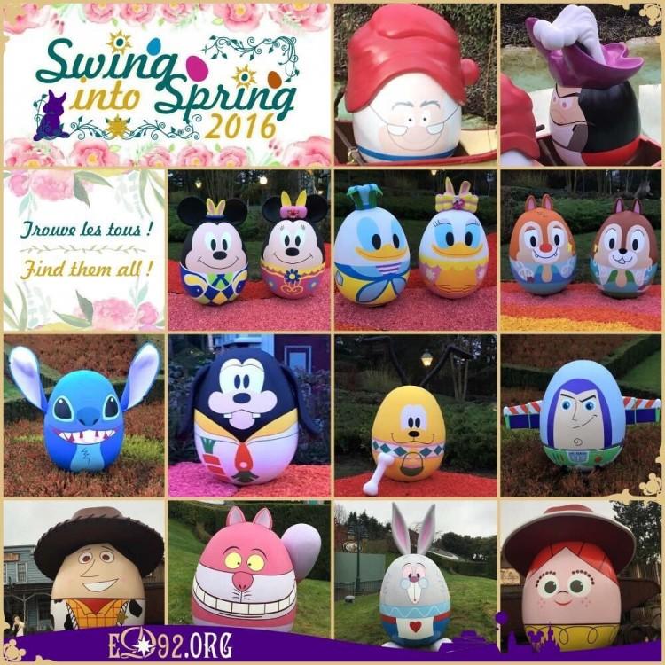Paaseieren Swing into Spring 2016