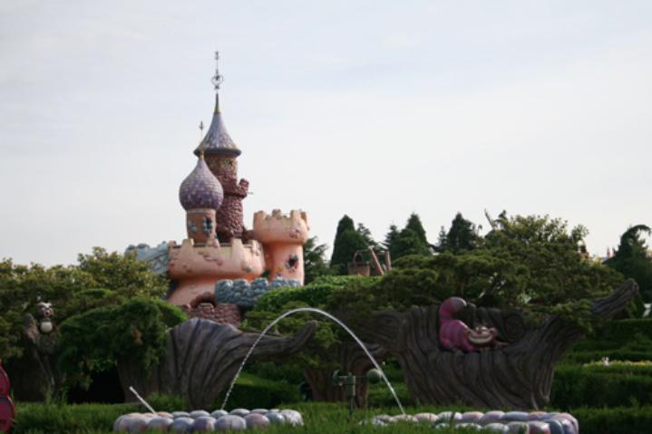 Alice's Curious Labyrinth kasteel