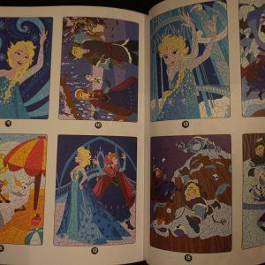 Disney kleuren op nummer Frozen (Junior) voorbeelden