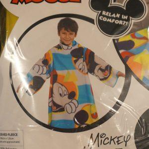 Mickey fleecedeken met armen detail