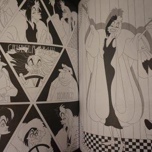 Disney kleuren voor volwassenen (Villains EN) binnenkant 2
