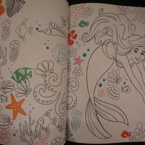 Disney Classics kleurboek junior XL binnenkant 1