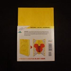 Mickey vouwboek achterkant