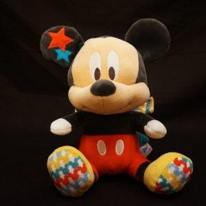 Mickey knuffel met muziek