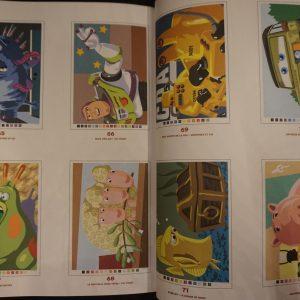 Disney kleuren op nummer Pixar binnenkant 2