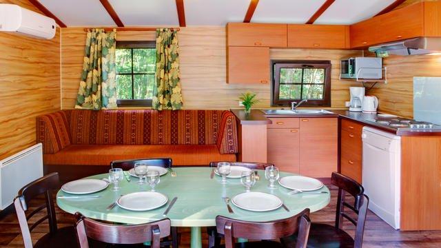 Davy Crockett Ranch keuken
