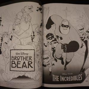 Disney Filmposters kleurboek XL (deel 2) binnenkant 1