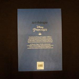 Disney kleuren voor volwassenen blok (Prinsessen) achterkant
