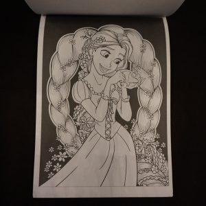 Disney kleuren voor volwassenen blok (Prinsessen) binnenkant 3