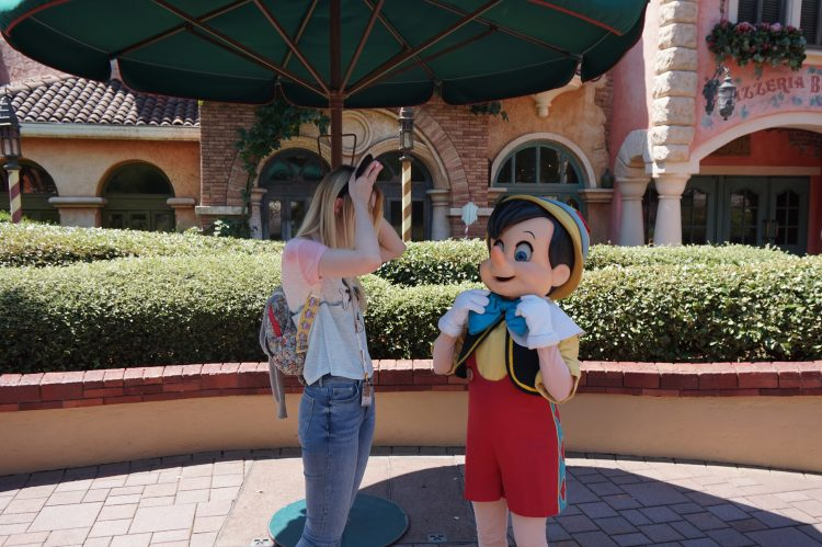 Pinocchio meet & greet