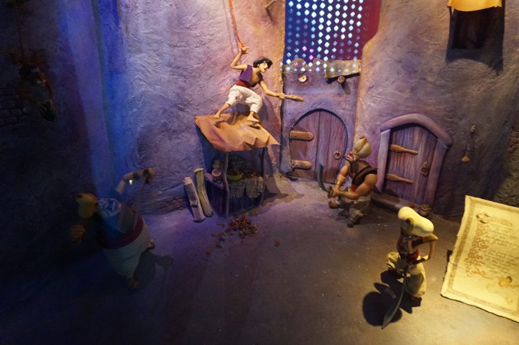 De straten van algrabah Le Passage Enchanté d'Aladdin