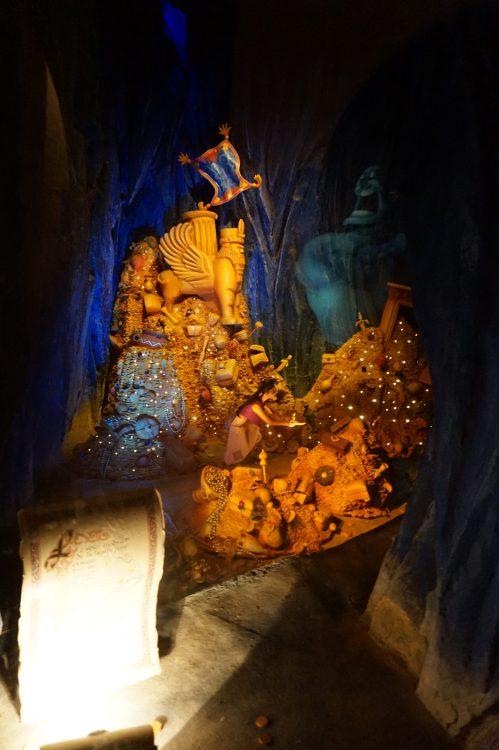 De geest Le Passage Enchanté d'Aladdin