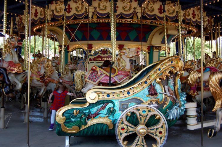 rijtuig Le Carrousel de Lancelot