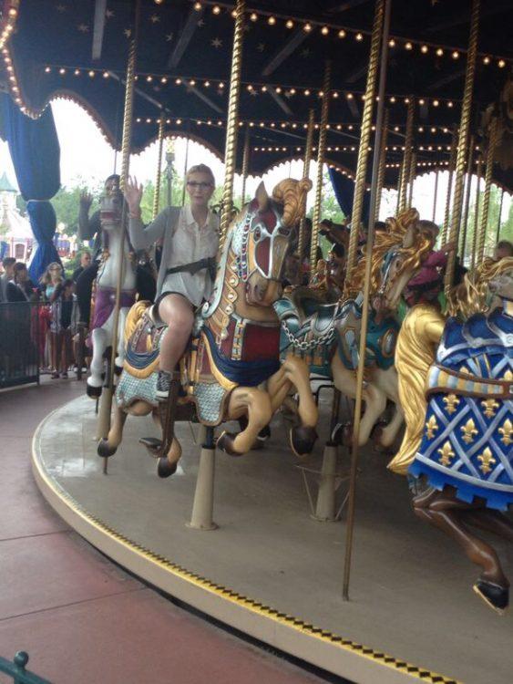 op Le Carrousel de Lancelot
