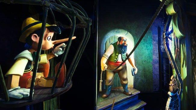 Les Voyages de Pinocchio stromboli