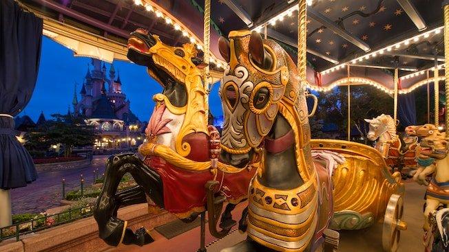 paarden Le Carrousel de Lancelot