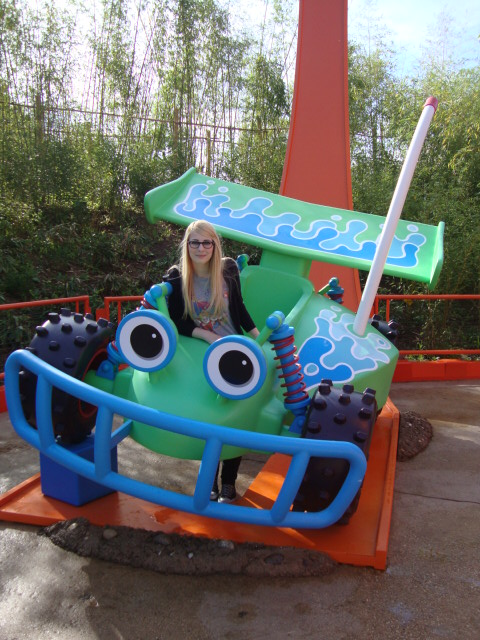 Toy Story Playland augustus 2010