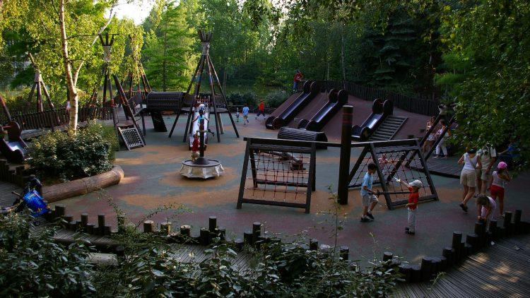 Pocahontas Indian Village speeltuin