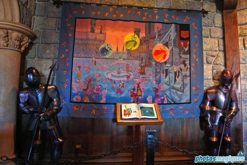 La Galerie de la Belle au Bois Dormant ridders