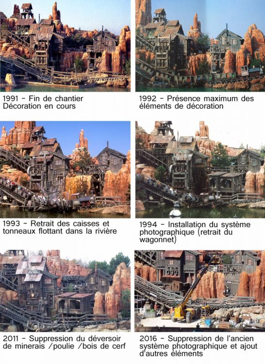 Big Thunder Mountain changes