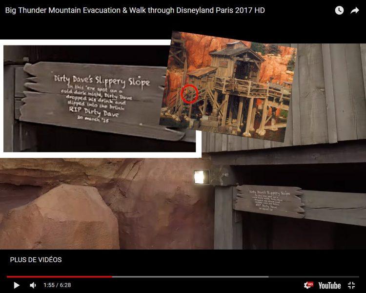 Big Thunder Mountain detail