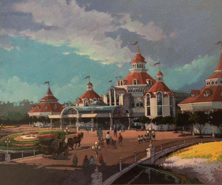 ingang van Disneyland Park