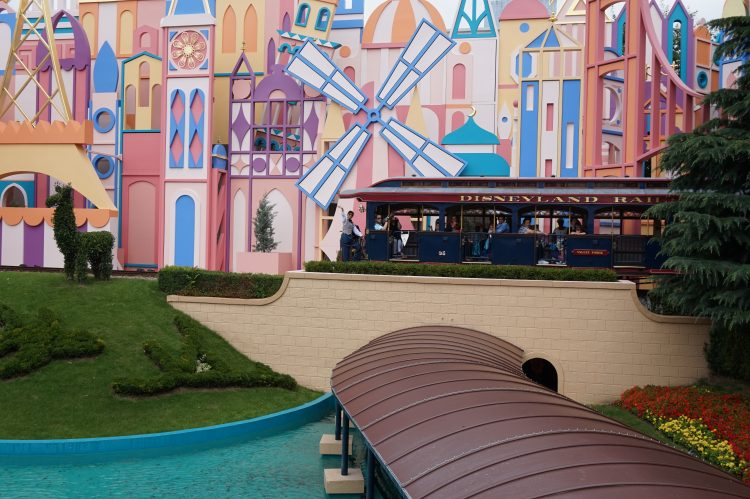 It's a Small World Disneyland Railroad