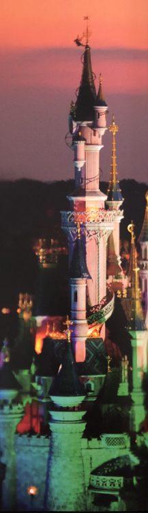 Disneyland Paris kasteel schemer